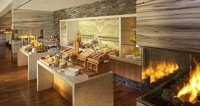 Hilton McLean Tysons Corner, VA Hotel - Breakfast Buffet - Turns into communal table?