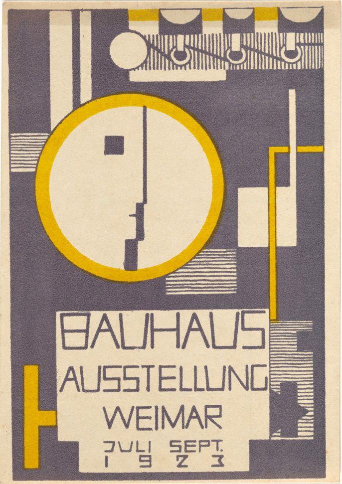 garadinervi:  Bauhaus postcards 1923 (pt.1)  Rudolf Baschant. Bauhaus Ausstellung Weimar Juli–Sept, 1923, Karte 10. 1923