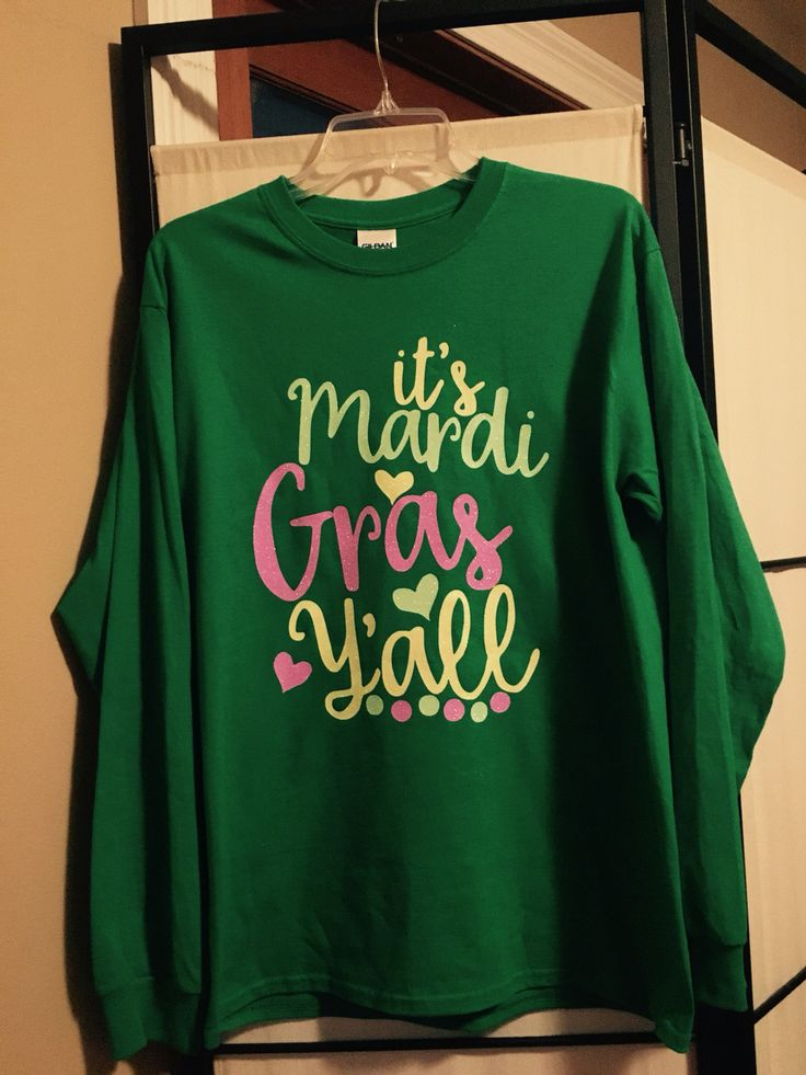 Mardi Gras Shirt Winter Wear Pinterest Shirts And