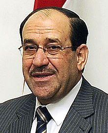 Nouri al-Maliki, 1950 former prime min. of Iraq.