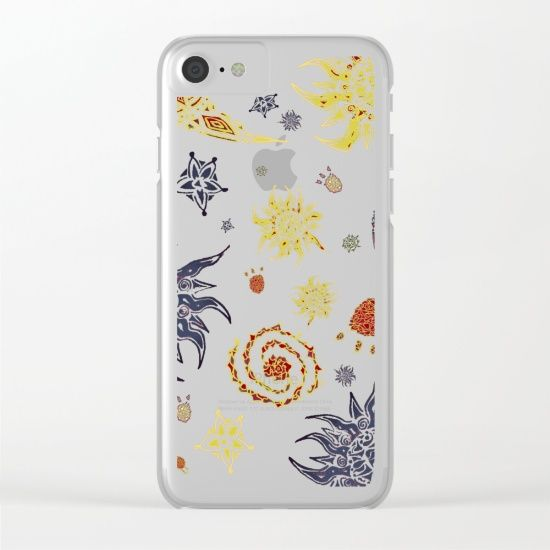 "Shop clear iPhone cases featuring brilliant patterns and designs on frosted, transparent shells - created by MaksciaMind! ""Christmas Space Pattern"" #iphone #cleariphone #cases  #christmas #giftideas #idearegalo #space #vortex #world"