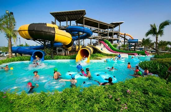 Аквапарк Black Mountain http://www.bontravel.com.ua/akvapark-black-mountain-water-park/  #waterpark #таиланд