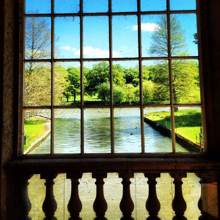Window view at Longleat Safari Park