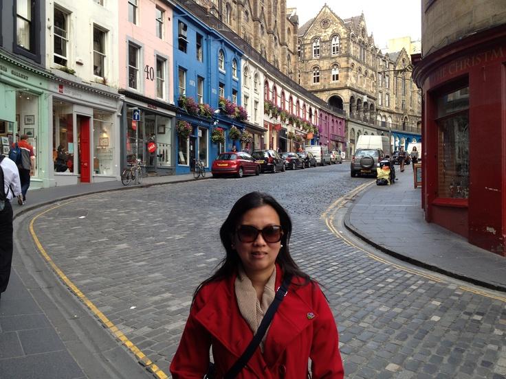 Candlemaker Row Edinburgh