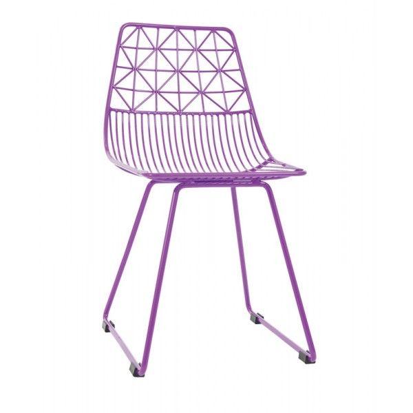Stupenda sedia in metallo per bimbi 'Me Sit' di Sebra