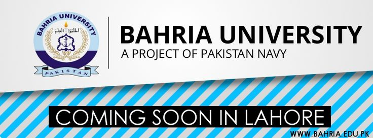Bahria University Lahore Campus ADMISSION OPEN