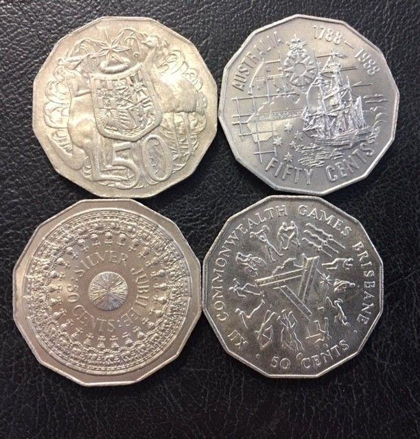 2008 AUSTRALIAN FLORIN CENTENARY Collection Coin Set