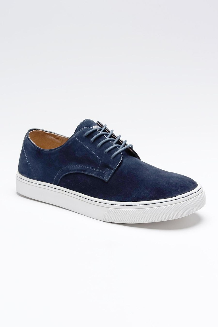 Oxford navy shoe