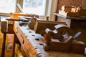 Torgare museum. Carpentry tools