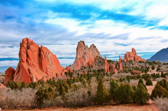 The Garden of the Gods, Colorado Springs
