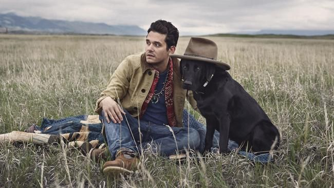 John mayer and Lab