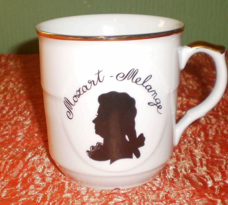 Rare EPIAG Mozart Melange Meinl Kaffee Porcelain Cup Mug