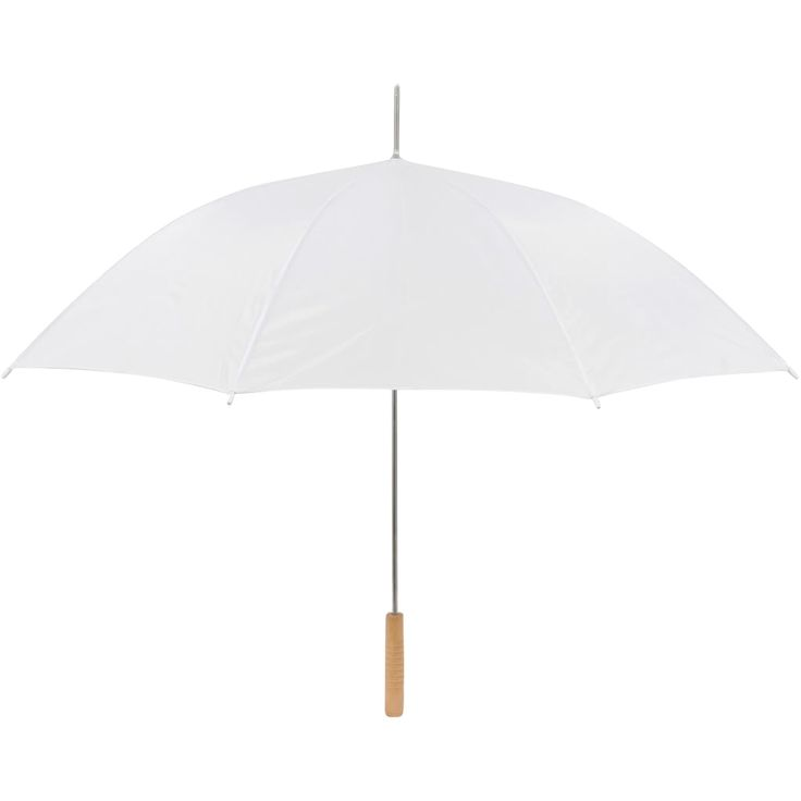 This set of 10 white wedding umbrellas will perfectly accent any wedding theme. This umbrella is perfect for weddings or outings requiring a white umbrella.