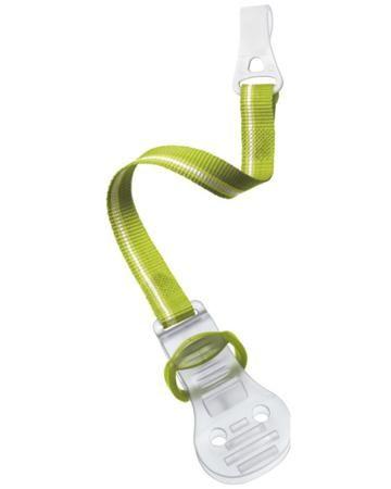 Avent Philips для пустышки зеленый  — 420р. -------------------- Держатель-клипса для пустышки зеленый Avent  Авент  - тканевая лента с широким захватом. Для всех типов пустышек с кольцом-держателем.