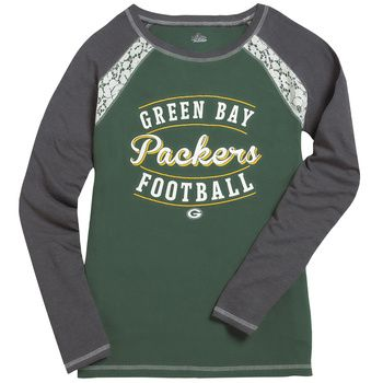 Green Bay Packers Women's Fantasy League T-Shirt at the Packers Pro Shop http://www.packersproshop.com/sku/5604023105/