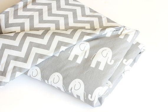Baby Bedding  Reversible Doona / Duvet Cover  White by raenne