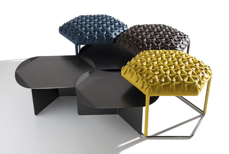 1000 images about poef poufs stool kruk on pinterest poufs b b italia and lounges - Zachte pouf ...