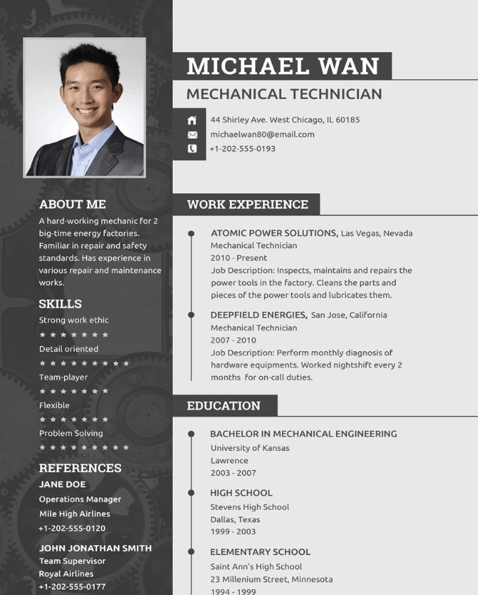 Doc engineer job mechanical nasa resume