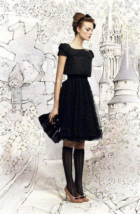 Red Valentino collection for Fall 2012Shoes, Knee High, Fashion, Redvalentino, Red Valentino, Backgrounds, Fall 2012, Little Black Dresses, The Dresses