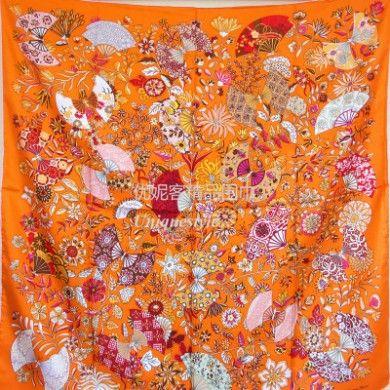 Hermes Fleurs et Papillons de Tissus silk twill scarf price singapore online outlet wholesale discount for sale