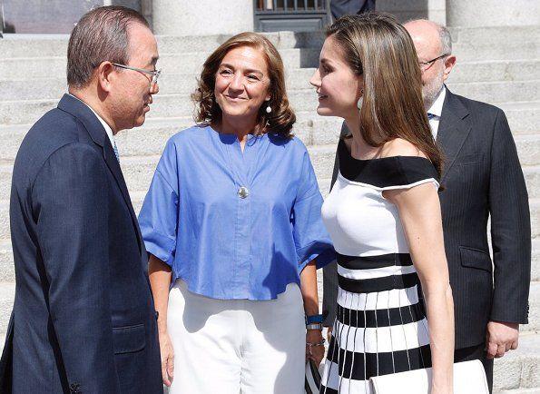 Queen Letizia attends UN SDGs Meeting in Madrid