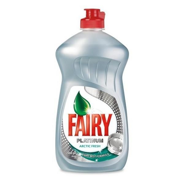 Fairy platinum arctic fresh washing up liquid 480ml #clean #save #Fairy #homehack
