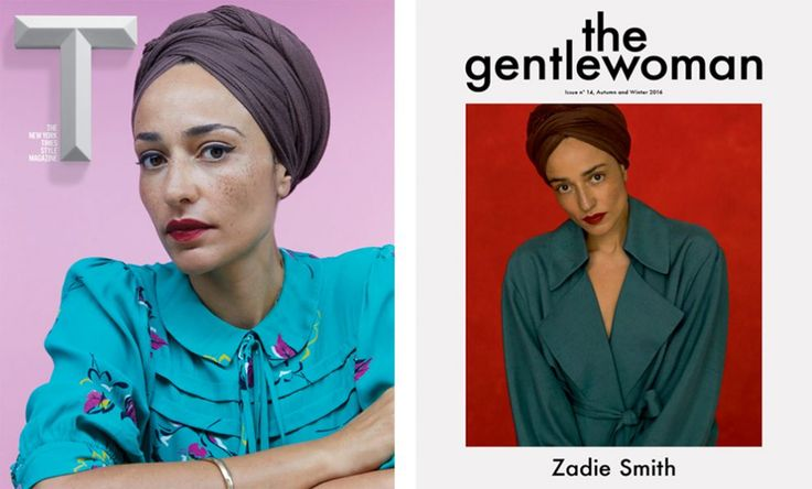 Author Zadie Smith and her new book Swing Time were featured in the T Magazine