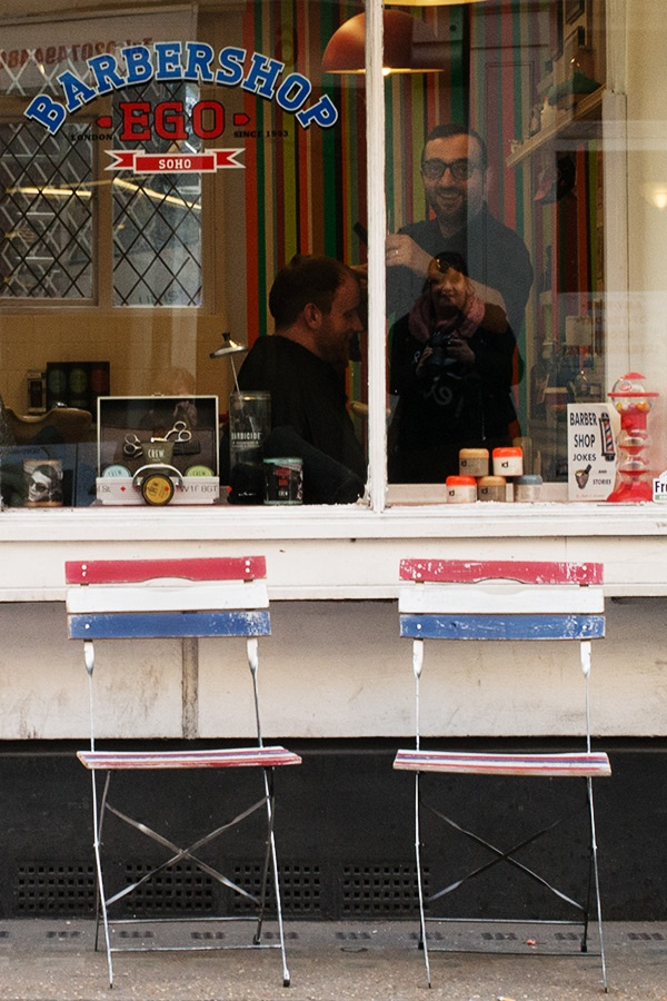 Urban London Soho Barber - Steve Middlehurst