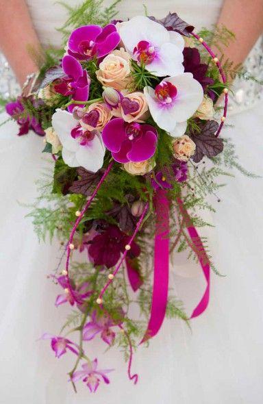 Orchideen Brautstrauß - Bildergalerie Hochzeitsportal24