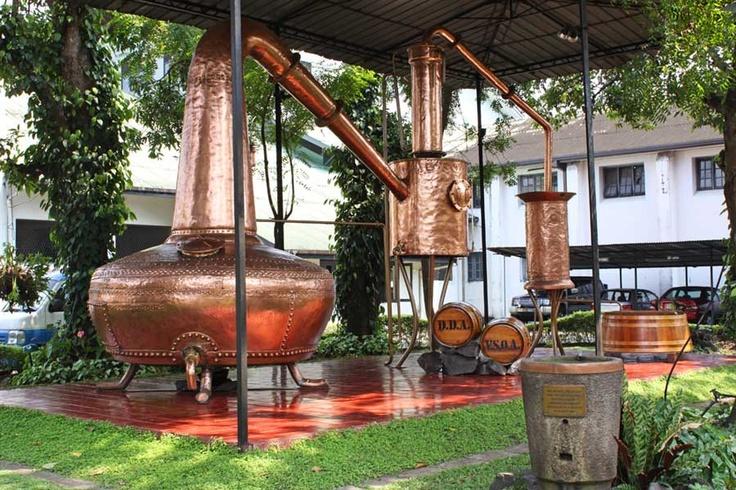 "Traditional Copper ""Pot"" stills for Coconut Arrack"
