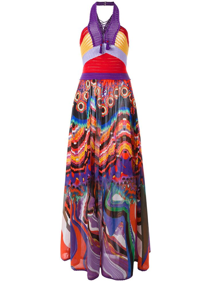 ¡Consigue este tipo de vestido informal de ROBERTO CAVALLI ahora! Haz clic para ver los detalles. Envíos gratis a toda España. Roberto Cavalli - Dreamscape Dress - Women - Cotton - 38: Multicoloured cotton Dreamscape dress from Roberto Cavalli. Size: 38. Gender: Female. (vestido informal, casual, informales, informal, day, kleid casual, vestido informal, robe informelle, vestito informale, día)