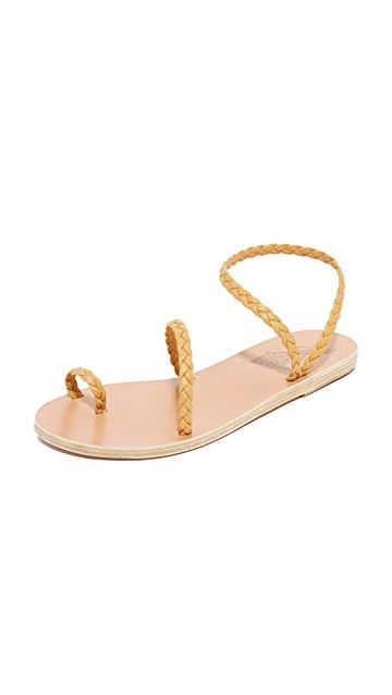 ANCIENT GREEK SANDALS | Eleftheria Sandals #Shoes #ANCIENT GREEK SANDALS