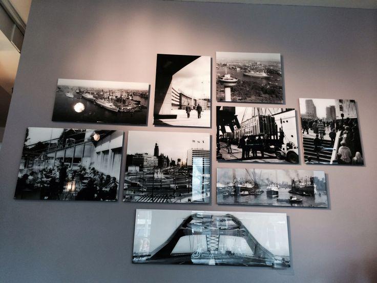 Huiskamer aan de muur, mooie oude rotterdam foto's