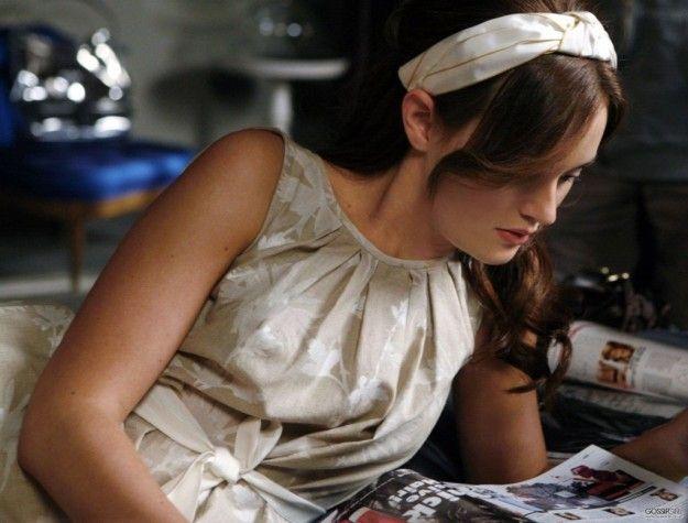 Moda Bon ton : Blair Waldorf