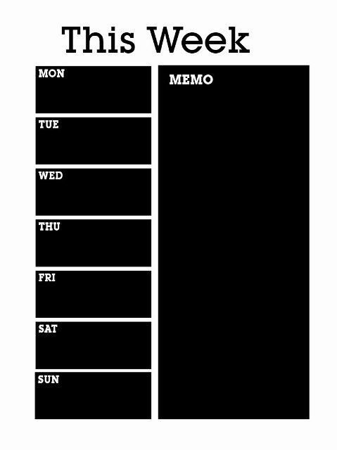 11 Best Weekly Wall Planner Images On Pinterest Weekly