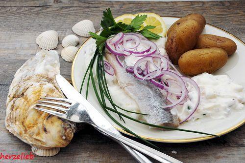 Matjes nach Hausfrauenart - ein Rezept von der Nordsee