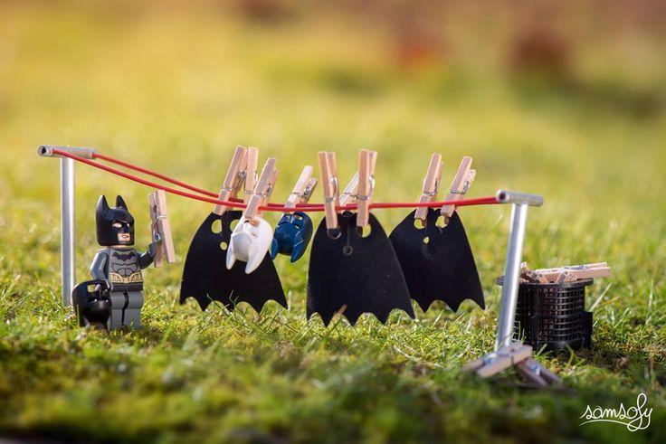 Amazing LEGO universes created by Photographer Samsofy | Abduzeedo