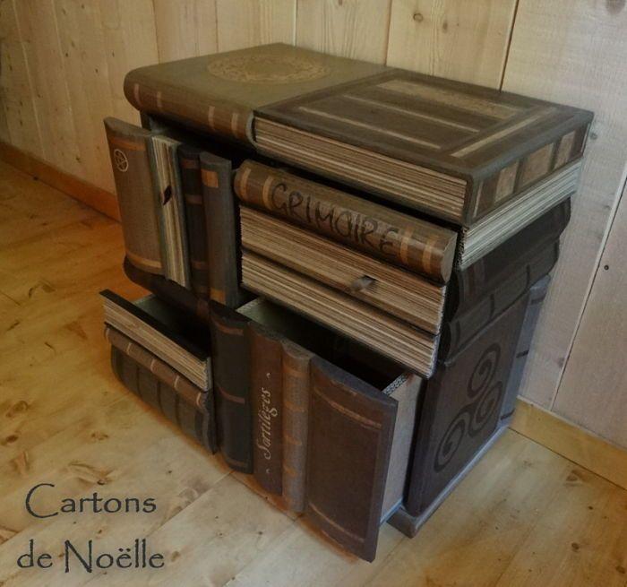 8 créations uniques en carton ! http://cartonrecup.com/des-objets-en-carton-bluffants/