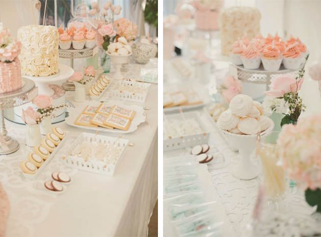 Pretty Pink Toronto Top Wedding Sweets Table