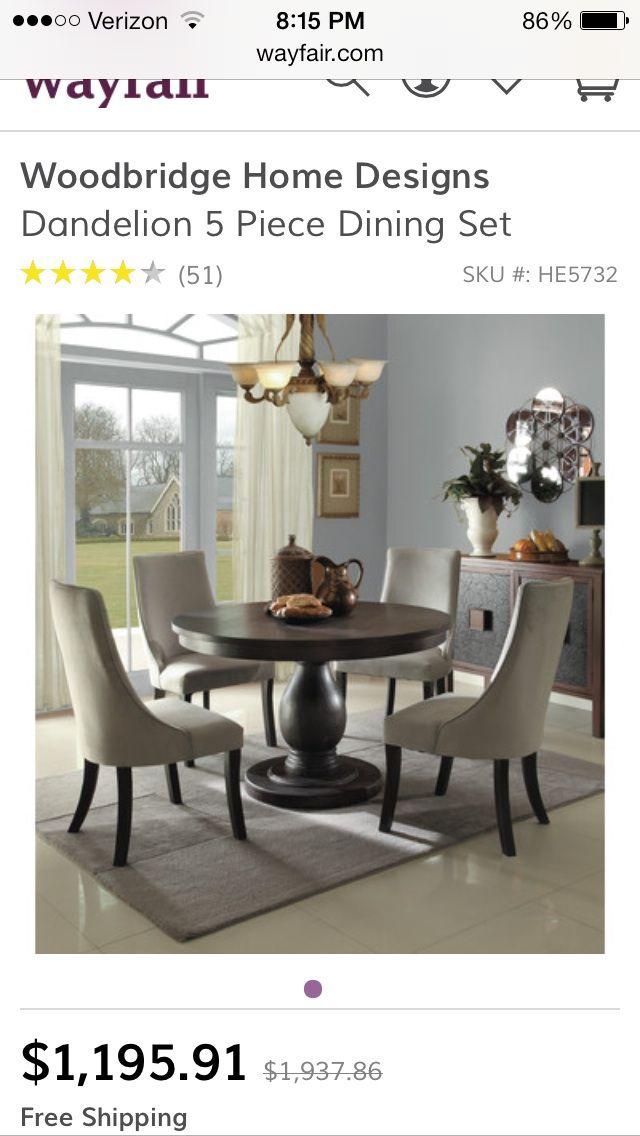 Mejores 16 imágenes de Wayfair dining sets en Pinterest | Juegos de ...