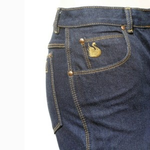 Gloria Vanderbilt jeans - I had one pair, good as new, my mom bought me at a garage sale.