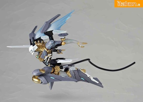 Zone of The Enders: Revoltech Jehuty Naked Ver. by Kaiyodo    Ditta: KaiyodoLinea: RevoltechOrigine: Zone Of The Enders