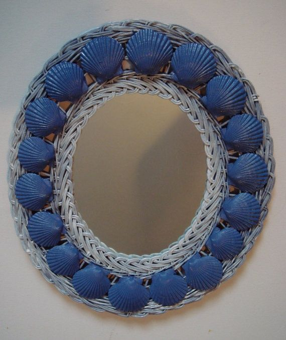Everyone loves the beach. To that end our first coastal inspiration comes from etsy. A simple white wicker mirror with blue shells. Our CC11 or CC13 are perfect for this look. How about this DIY coastal mirror makeover? It is so simple, just add our rope trim T52. You don't have to have a frame to …