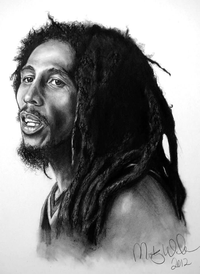 """""""Man is a universe within himself."""" #bobmarleyquotes Art ..."""