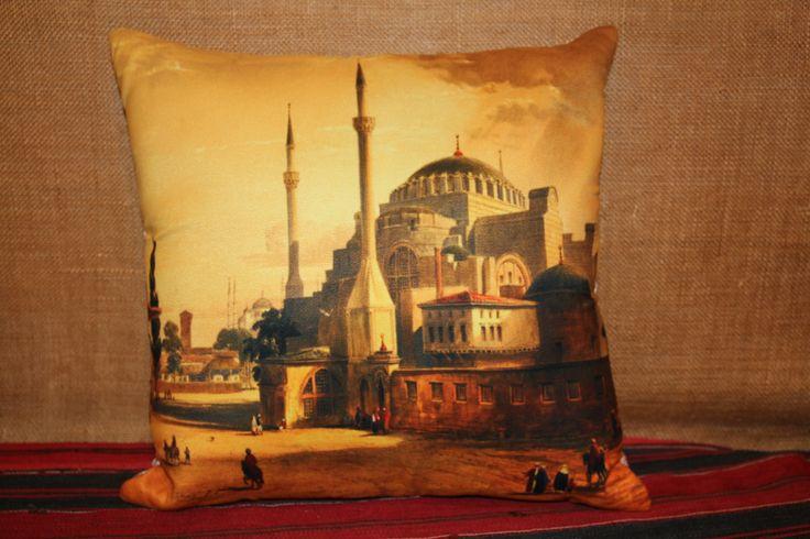 Unique Cushion, Home Decor, Cushion Covers, Spring Summer Decor, Oriental Home Decor, Istanbul Cushion, Turkish Home Decor, Gift Shop, Gift Shops www.grandbazaarshopping.com