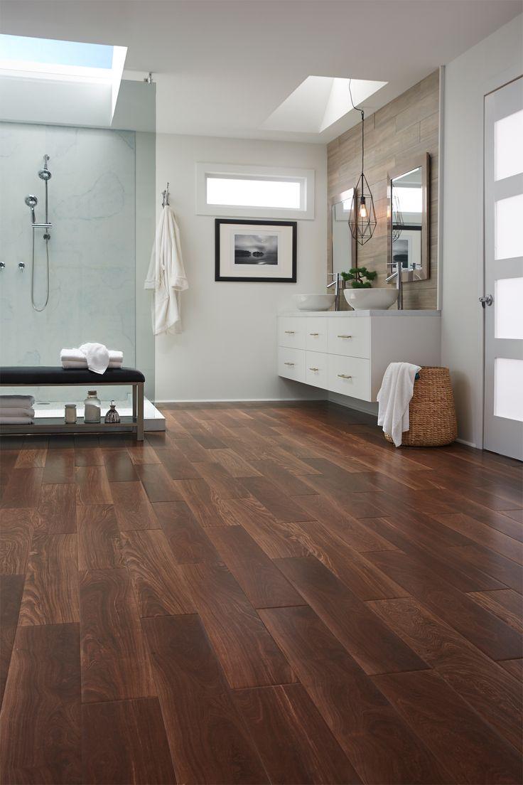 Brazilian ebony hardwood flooring - Versatile Durable Beautiful Wood Look Tile Styles Like Brazilian Ebony Are Ideal