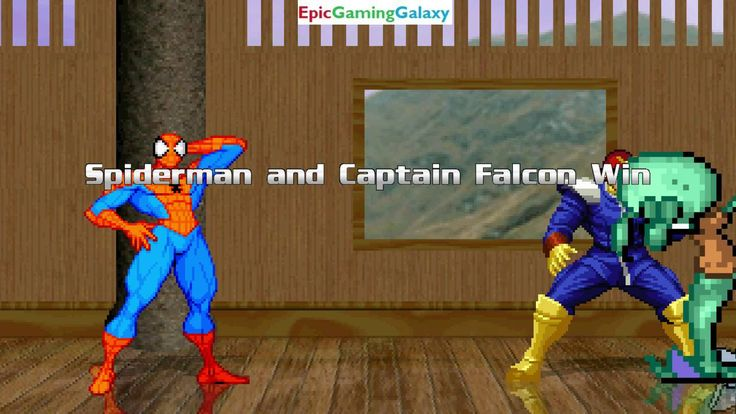 SpongeBob SquarePants & Bender The Robot VS Captain Falcon & Spider-Man In A MUGEN Match / Battle This video showcases Gameplay of SpongeBob SquarePants And Bender The Robot From The Futurama Series VS Captain Falcon From The F-Zero Series And Spider-Man The Superhero In A MUGEN Match / Battle / Fight
