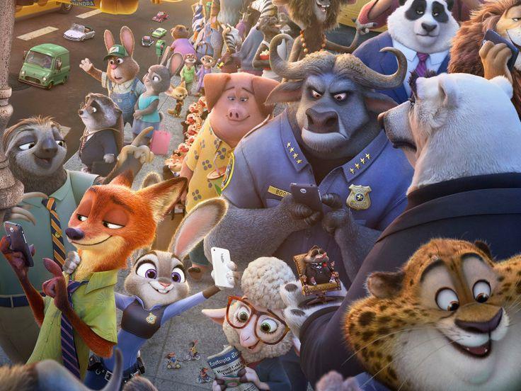 Venha conhecer Zootopia, a nova animação da Disney!