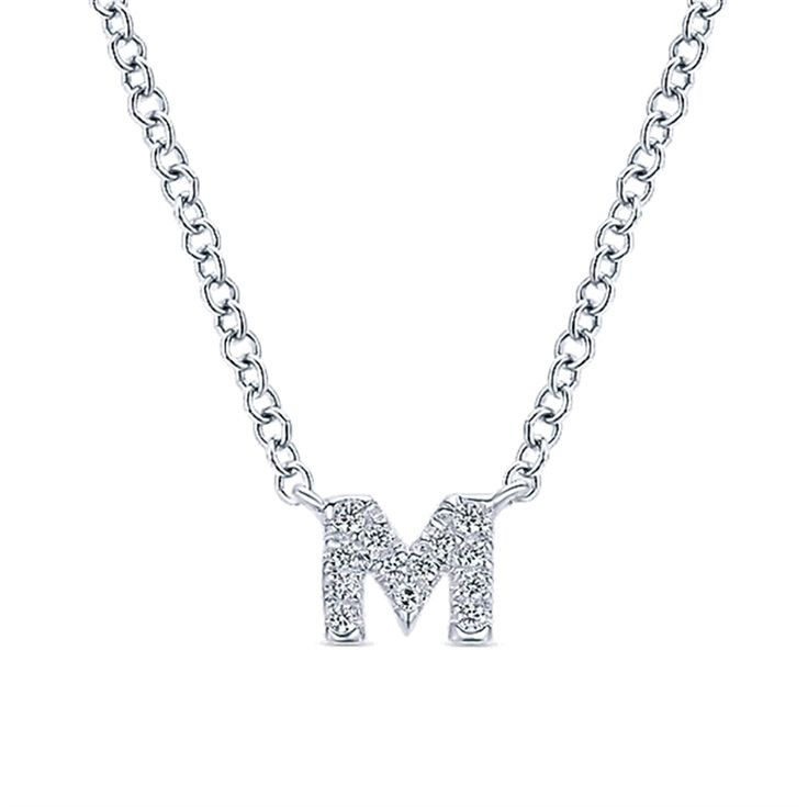 Does your wife, daughter, girlfriend, sister or any special woman in your life have a special event coming up? These necklaces make the perfect gift!   14KW INITIAL JEWELRY - Michaels Jewelers