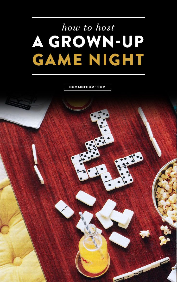 Everything you need to know to host a sophisticated game night.